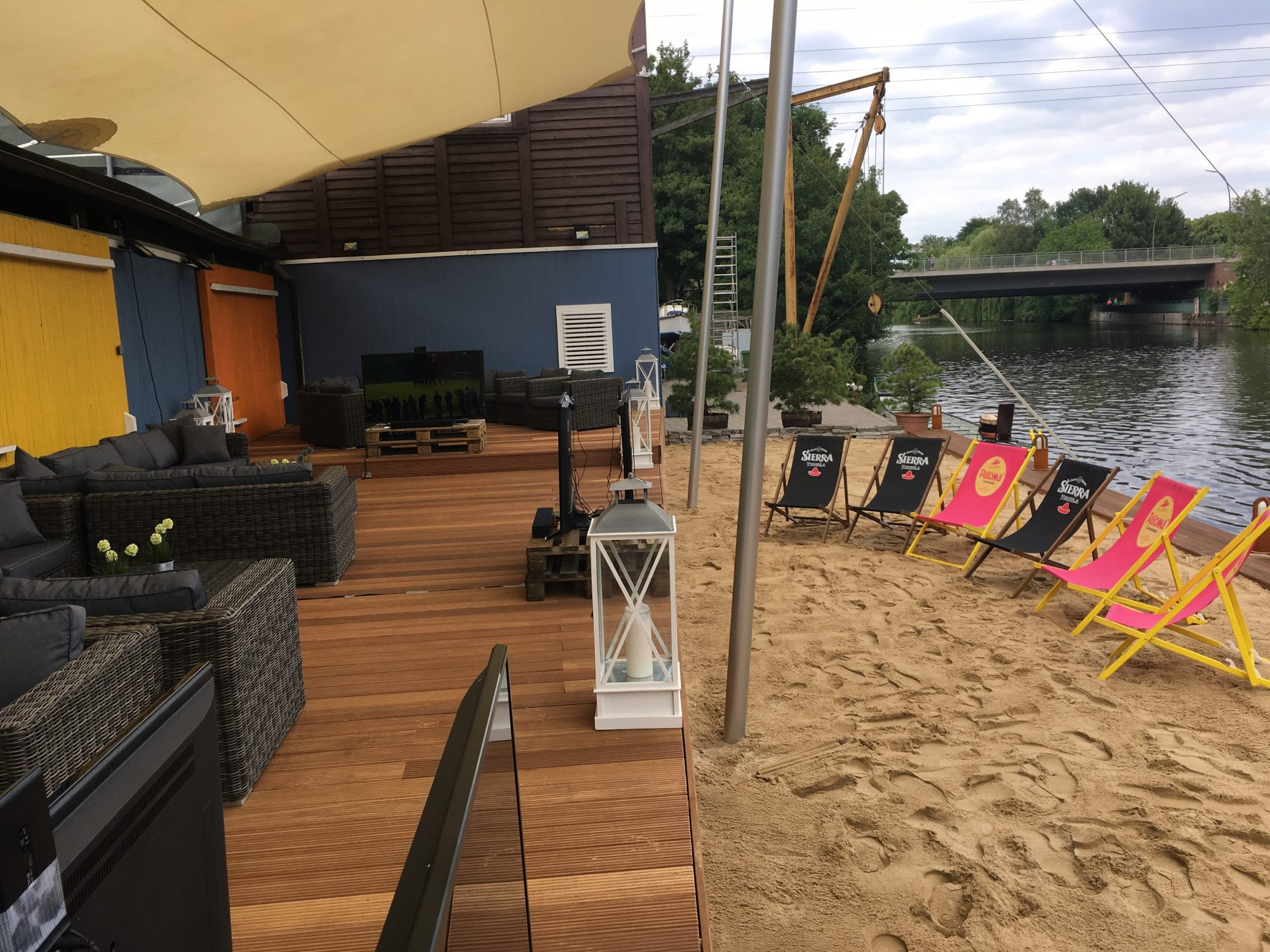 Alster Beach Club ist Drachenboot Standort Nr. 1 in HH
